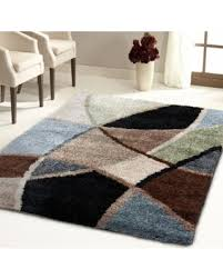 7 X 9 Wool Rug Spectacular Deal On Carolina Weavers Shag Scene Collection Specter