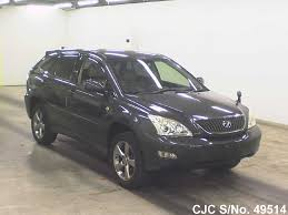 japan used car toyota lexus 2003 toyota harrier gray for sale stock no 49514 japanese