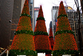 Christmas Decorations At Home New York Christmas Tree Decorations Home Decor 2017