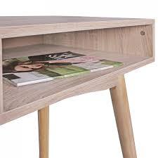 Kleiner Schreibtisch Auf Rollen Finebuy Schreibtisch 90 X 78 X 45 Cm Mit Schublade In Sonoma Eiche