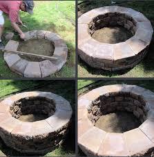 Build Backyard Fire Pit - backyard firepit living ideas u2014 home fireplaces firepits