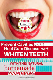 prevent cavities heal gum disease and whiten teeth with this