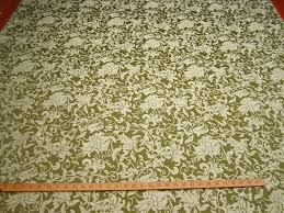 ft115 minuet floral scroll jacquard upholstery fabric color willow