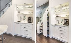 Food Storage Cabinet Before And After See How This Home Added A Coffee Station And