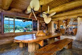 log cabin dining room chairs log cabin dining table log cabin