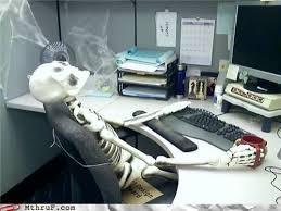 Skeleton Computer Meme - waiting skeleton blank template imgflip