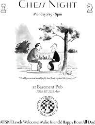 chess night se portland or chess forums chess com