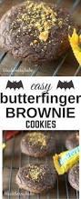 easy butterfinger brownie cookies blackberry