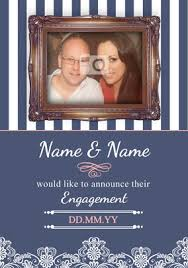 engagement announcement cards engagement announcement cards funky pigeon