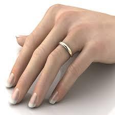 3mm ring stunning wedding rings 3mm d shape wedding ring