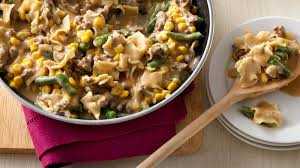 corn and green bean beef stroganoff recipe bettycrocker com