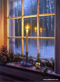 holiday window candle lights christmas window lights decoration and ideas christmas