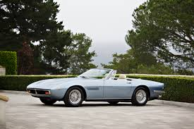vintage maserati ghibli classic maseratis headed for auction at pebble beach