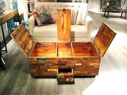 trunk coffee table diy diy coffee table with storage rebelswithacause co