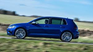 volkswagen gti blue 2017 vw golf r 2017 review by car magazine