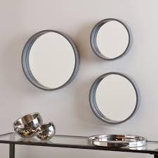 all mirrors wayfair daws 3 piece wall mirror set loversiq