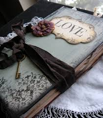 Shabby Chic Wedding Guest Book by 19 Best Shabby Chic Images On Pinterest Wedding Guest Book