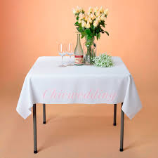 tablecloth for 54x54 table 54x54 square polyester tablecloth table cloth cover wedding party