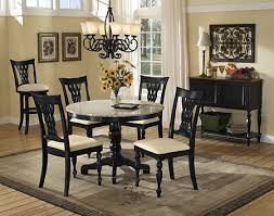 Nice Decoration Granite Dining Table Set Cool Ideas Black Room - Granite dining room sets