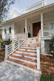 Beach House Pictures Beach House Architecture Beach Elevated House Entry Front