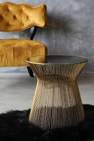 Gold Side Table Hstead Gold Side Table From Rockett St George