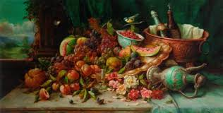 fruit and flowers a cornucopia of fruit and flowers by hans zatzka on artnet