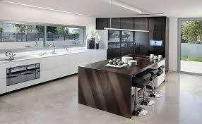 cuisine moderne avec ilot central en photo contemporaine newsindo co