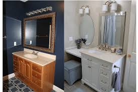 Ideas For A Bathroom Makeover Home Makeover An Interior Designer U0027s Glam Black U0026 White Denver Home