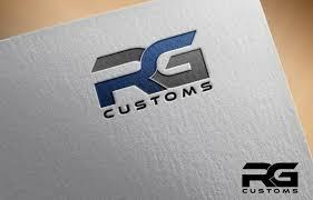 Rg Designs by Modern Bold Logo Design For Rg Customs By Jessica Design 6111801