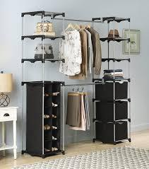 amazon com whitmor deluxe double rod organizer home u0026 kitchen