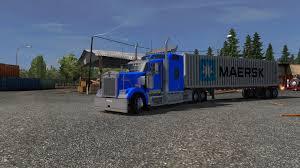 trucking companies with kenworth w900 kenworth w900 v3 0 ats v1 24 x upd 03 06 16 modhub us