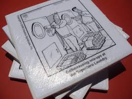 comic coasters 6 steps with pictures