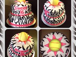 sweet 16 who loves to play softball cakecentral com