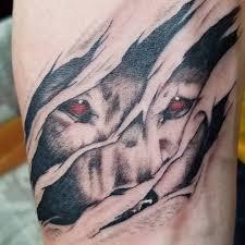 wolf rip looks like he will eat sandman s ink shop