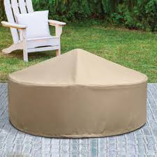 patio armor ripstop round pit cover sf46618 home depot