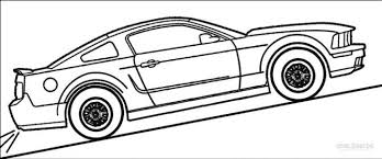 coloring pages good mustang coloring car pages