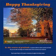 Uva Thanksgiving Uva Graduate School Of Arts Sciences College