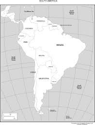 South America Map Capitals by Maps Of The Americas