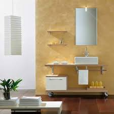 wall mount sink with towel bar style your bathroom with chic cabinet ideas designoursign