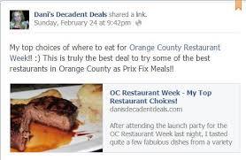 orange county dining deals orange county dining deals t