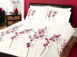Red King Size Comforter Sets One Pointedness Bedroom Teenage Tags Orange Boys Bedding
