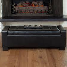ottomans leather footstool walmart storage bench or ottoman