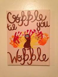 silly personalized footprint turkey craft for footprint