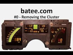 corvette instrument cluster repair 84 89 corvette fix 0 removing the cluster