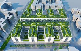 the u0027ultimate eco building u0027 architect designs futuristic billion