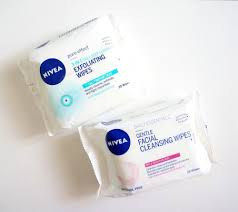 new from nivea gentle cleansing wipes and exfoliating