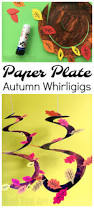 paper plates thanksgiving autumn tree paper plate whirligig red ted art u0027s blog