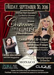 costumes for a cause go red for women fashion events pittsburgh 2016