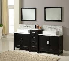 Cheap Bathroom Vanity Ideas Top J International 84 Horizon Sink Vanity White