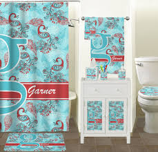 Blue Bathroom Accessories by Peacock Bathroom Accessories Set Ceramic Personalized Potty
